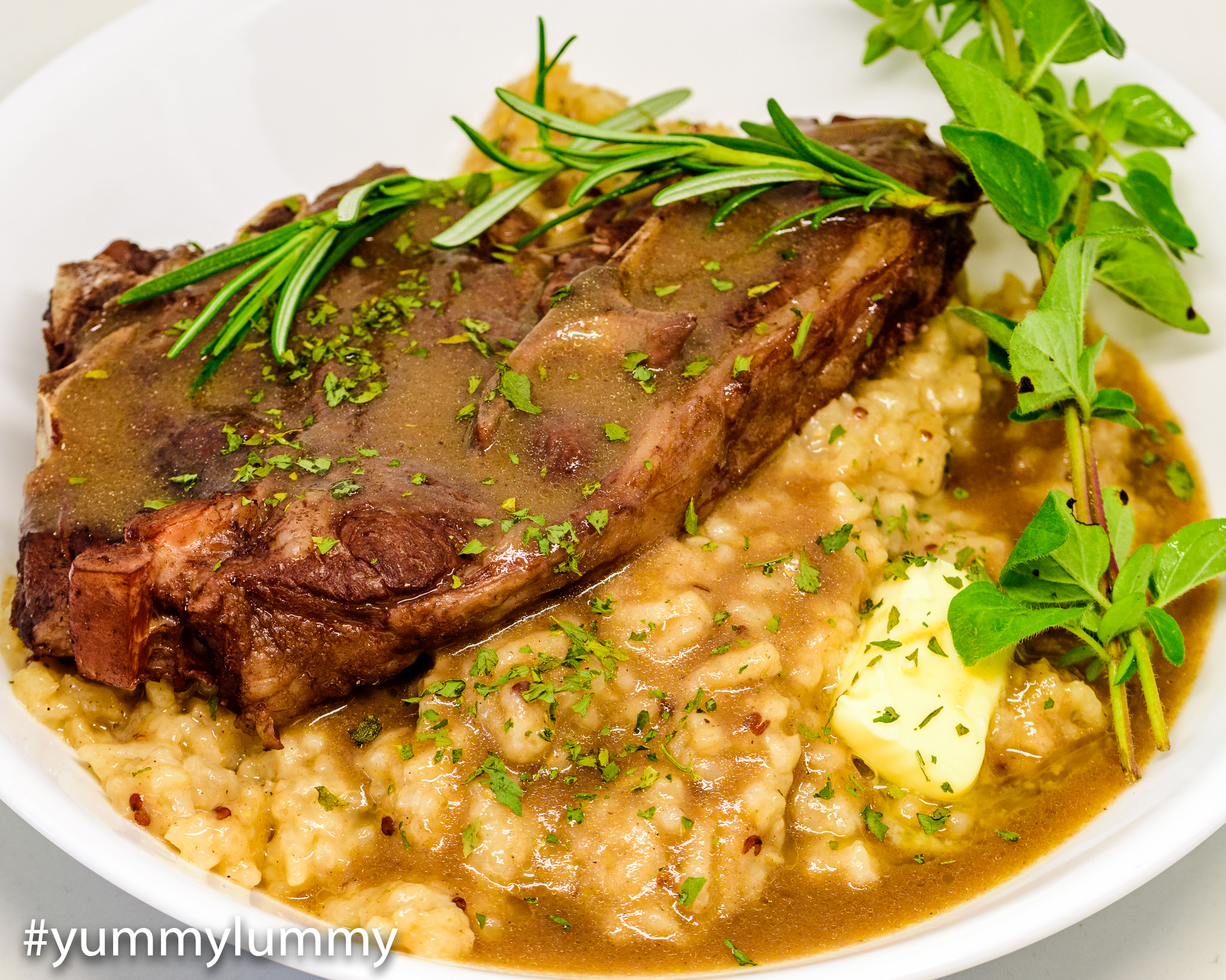 forequarter lamb chops recipe Fast cook lamb forequarter with chicken-flavoured rice